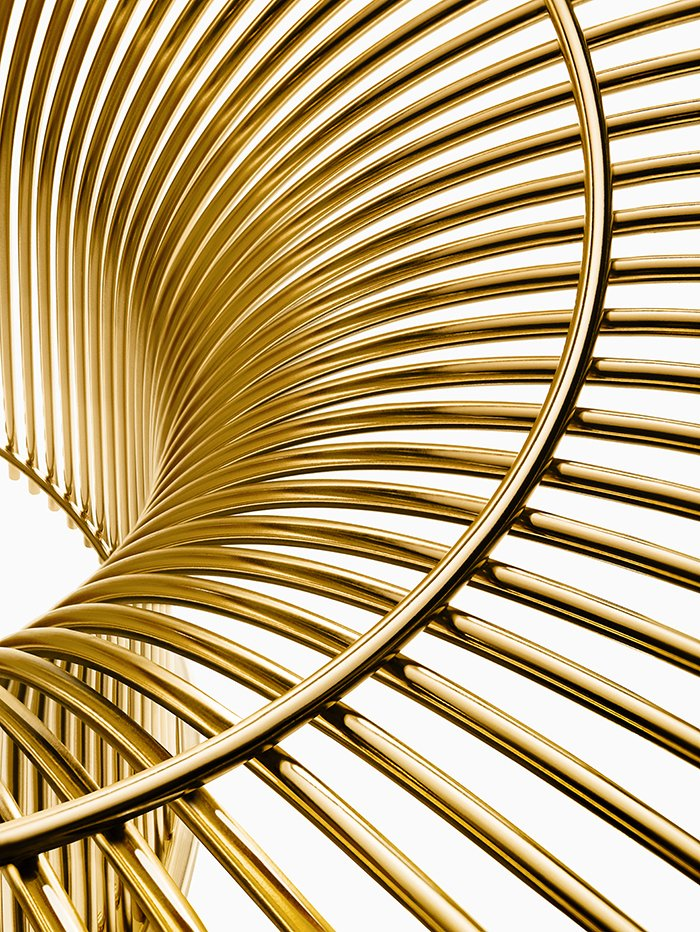 Photo 1 of 7 in Knoll Inspiration: Introducing Platner Gold