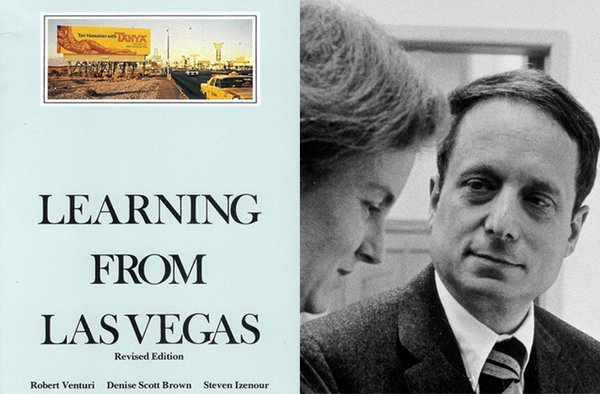 Learning From Las Vegas by Robert Venturi & Denise Scott Brown, 1972  Photo 3 of 7 in Recommended Reading: Books by Knoll Designers