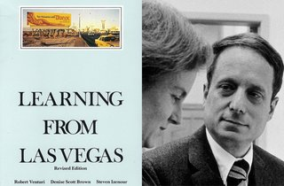 Learning From Las Vegas by Robert Venturi & Denise Scott Brown, 1972