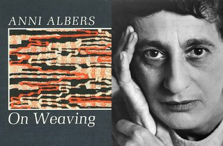 On Weaving by Anni Albers, 1974
