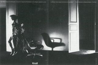 Photograph by Guy Bourdin from the Knoll Archive.