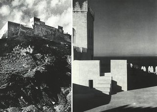York Castle, with its crenellated rampart walls, was situated above the beach on the edge of Tangier.