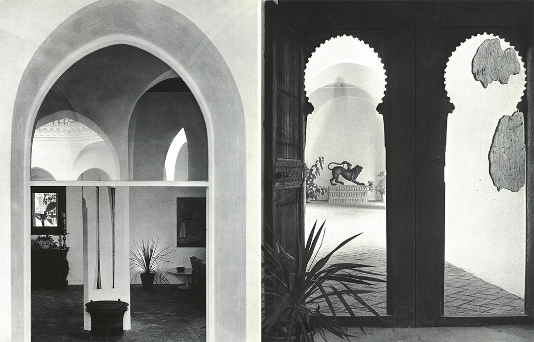 Yves Vidal filled the rooms and courtyards of York Castle with artifacts of African, Middle Eastern, and Asian origin.  Photo 4 of 12 in Morocco Modern