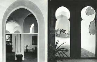 Yves Vidal filled the rooms and courtyards of York Castle with artifacts of African, Middle Eastern, and Asian origin.