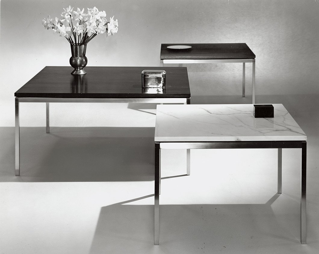 The End Tables designed by Florence Knoll as  Photo 8 of 10 in Introducing New Designs Inspired by a Century of Florence Knoll
