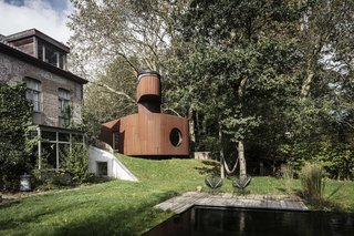 This Beguiling Guesthouse in Belgium Has an Underground Cinema and a Watchtower