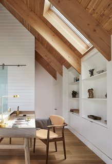 This Modern Farmhouse Outside Toronto Makes Its Own Rules - Photo 5 of 11 - A 106 Harold Desk by Luca Nichetto sits in the study.