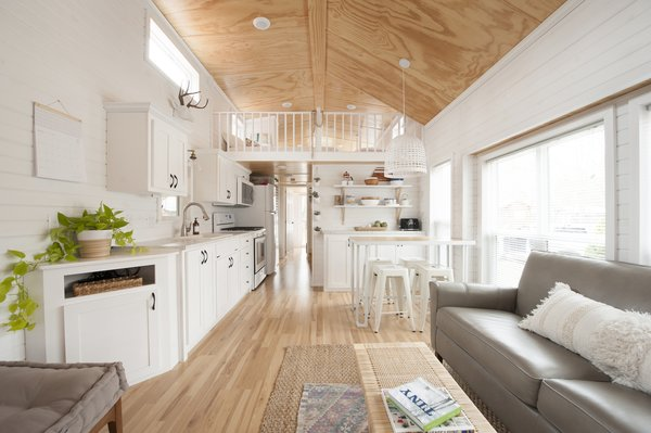 An 860 Square Foot Tiny Home Becomes A Summer Haven For A