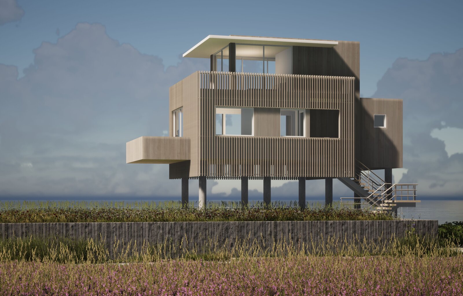 Photo 1 of 2 in House on Peconic Bay by City Architect