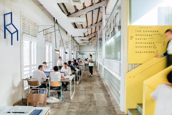 These 6 Collaborative Coworking Spaces Will Give you Serious Office Envy