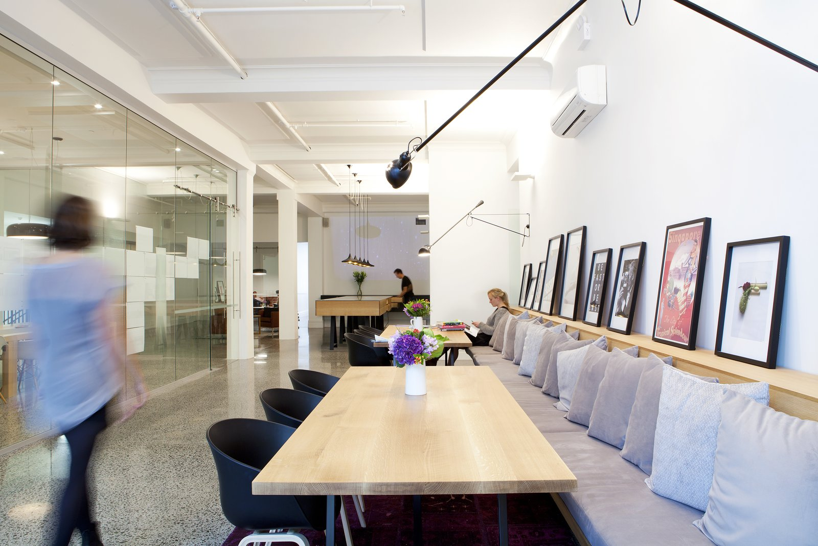 Photo 1 of 5 in Spotlight on Work Spaces That Double as Art Galleries