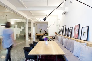 Spotlight on Work Spaces That Double as Art Galleries