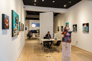 Spotlight On Work Spaces That Double As Art Galleries   Photo 2 Of 4   ELLu0027s