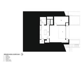 Tank Hill Residence floor plan — ground floor