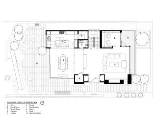 Tank Hill Residence floor plan — second floor