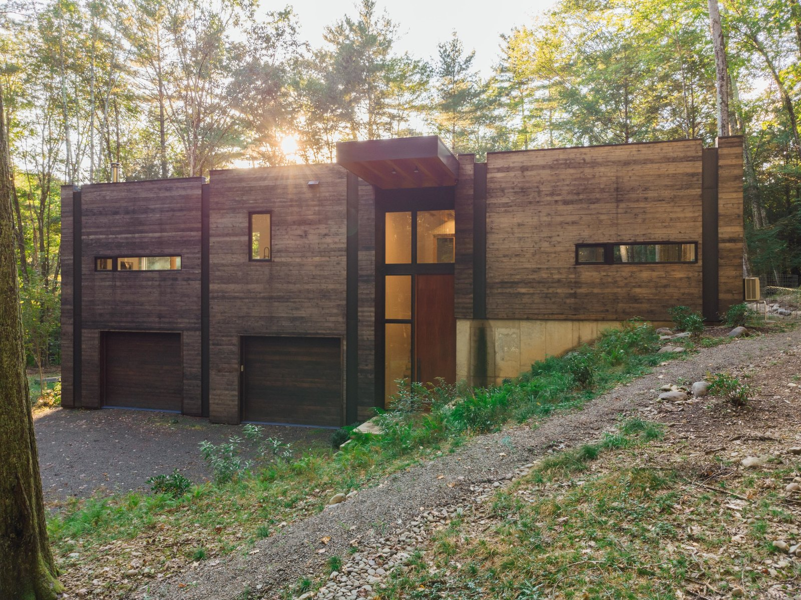Photo 1 of 12 in A Couple's Scenic Getaway Built For Creating and Tinkering  in New York's Hudson Valley