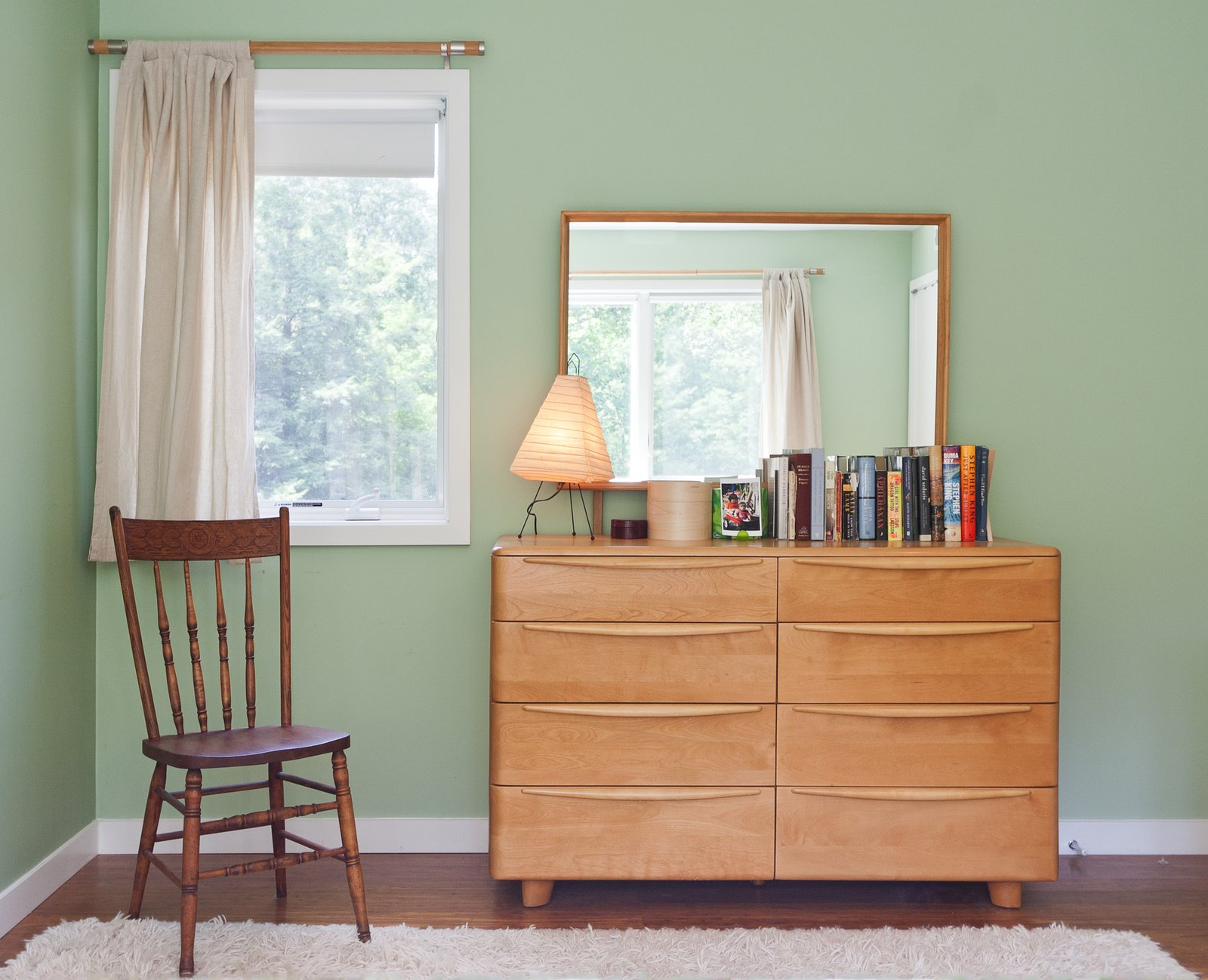 Bedroom, Dresser, and Chair  Catskills Suburban by Resolution: 4 Architecture