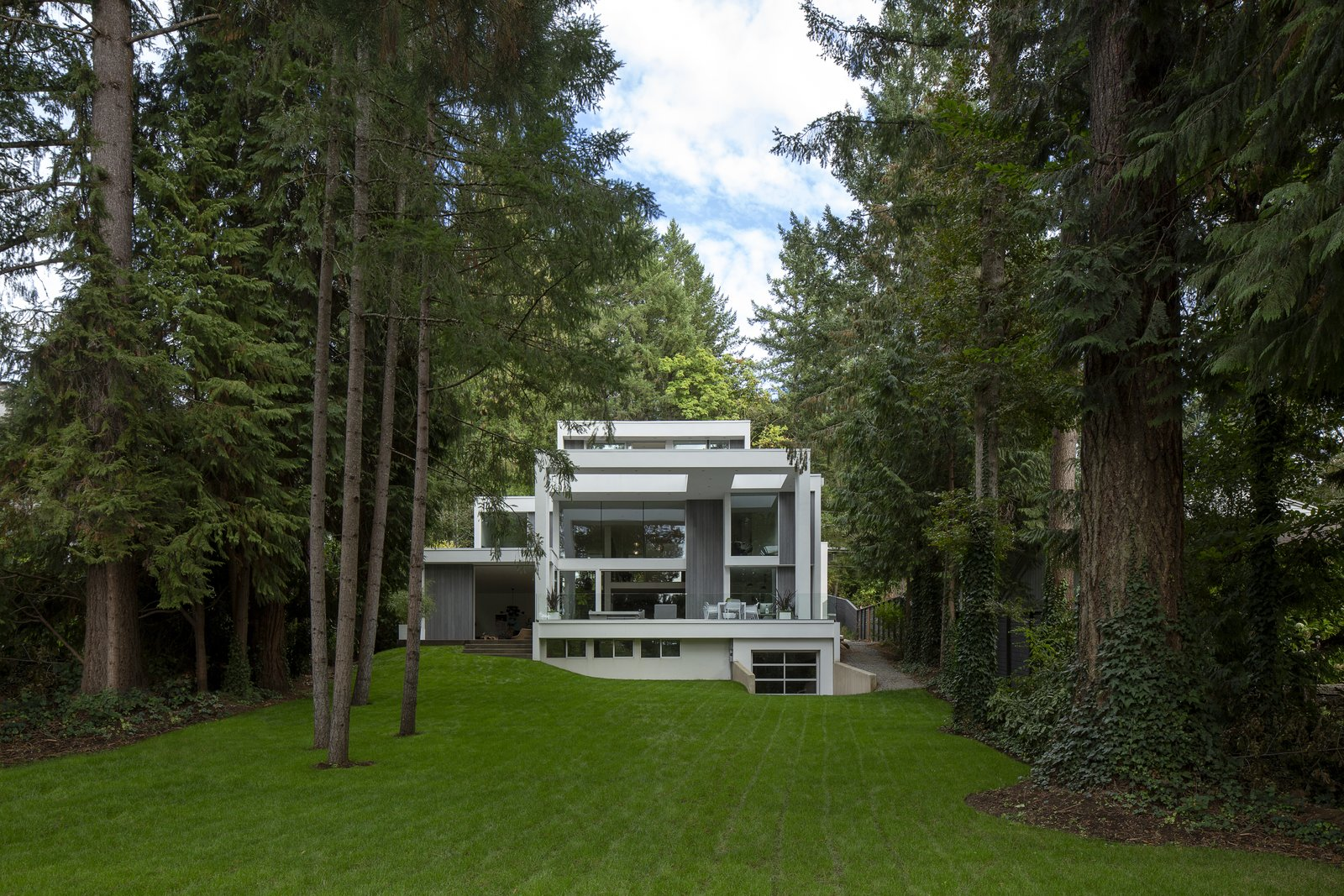 Photo 1 of 7 in An Actor-Turned-Designer Couple Build a Dream Home in Oregon
