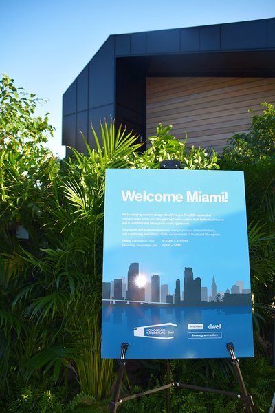 Photo 2 of 8 in Monogram Modern Home Lands at Miami Design Week