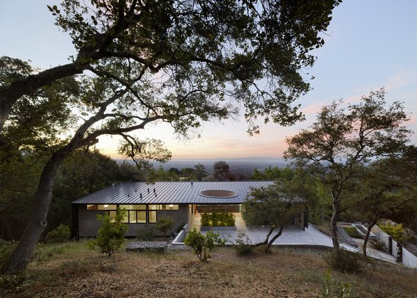 Exterior, House Building Type, Metal Roof Material, and Shed RoofLine  Overlook Guest House by Schwartz and Architecture