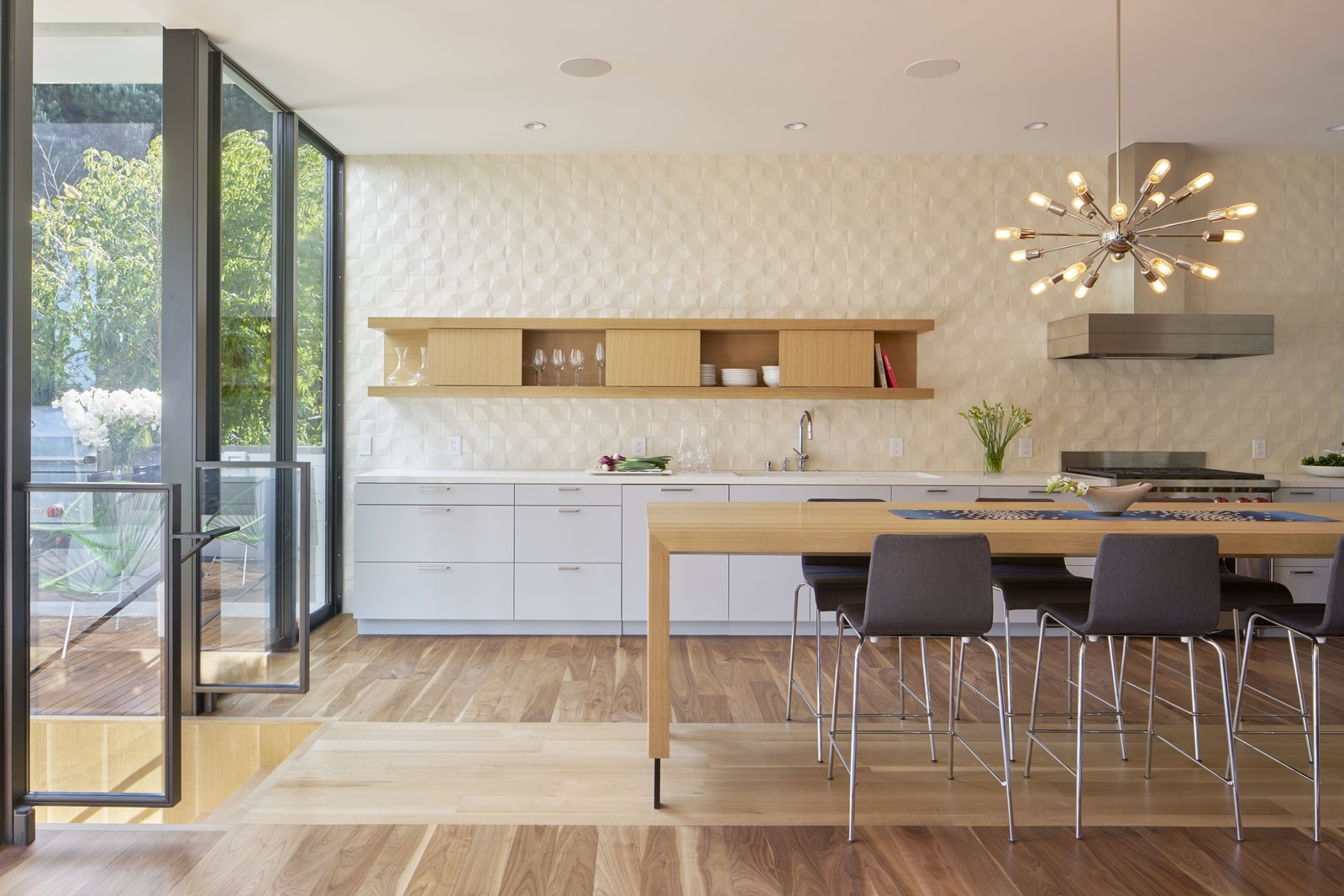 Kitchen  29th Street Residence by Schwartz and Architecture