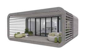 Meet the Prefab Unit That's Smart, Mobile, and Sustainable - Photo 6 of 11 - The newest model, Coodo 23, is currently under development and will feature a 248-square-foot plan.