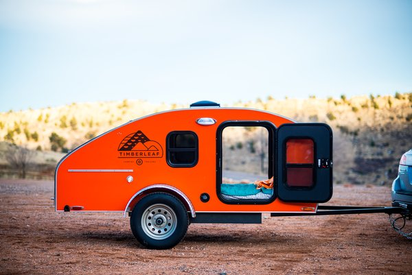 Get Your Glamp On in This Retro Teardrop Trailer