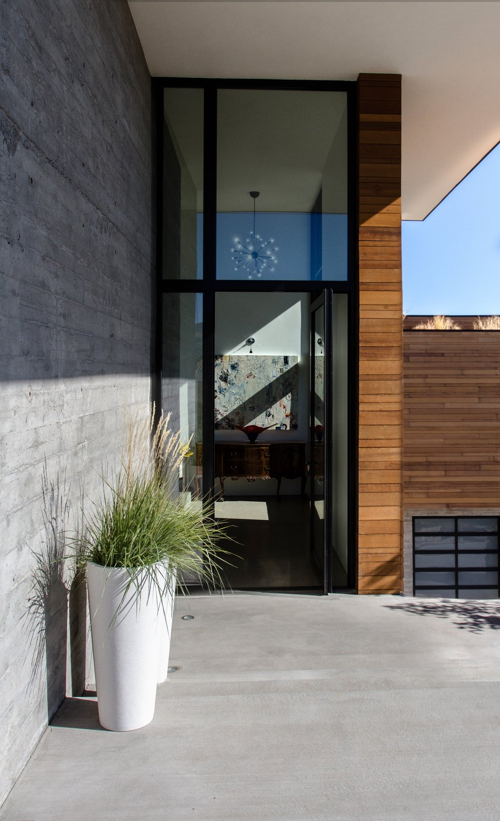 Doors, Swing Door Type, Metal, and Exterior  Park City Modern Residence by Sparano + Mooney Architecture