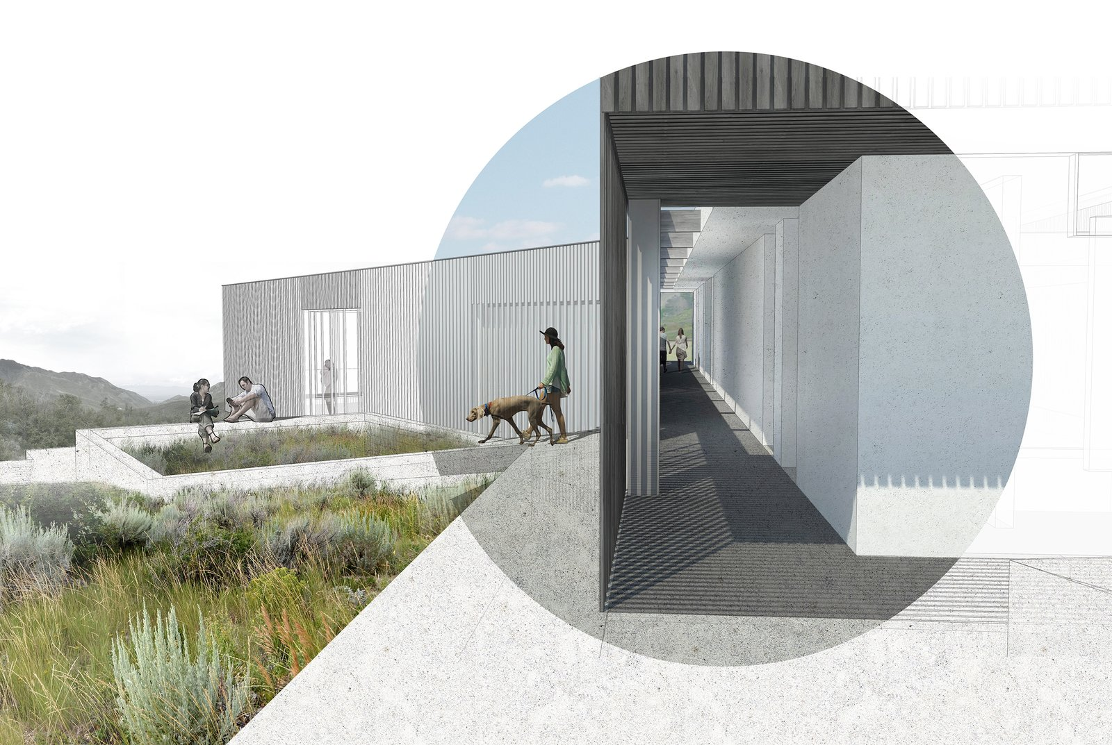 Wabi-Sabi House by Sparano + Mooney Architecture