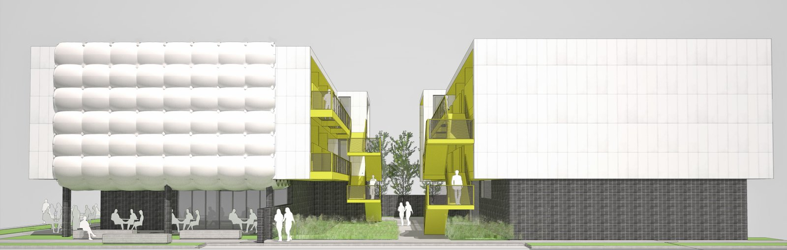 Central Ninth Mixed Use Development by Sparano + Mooney Architecture