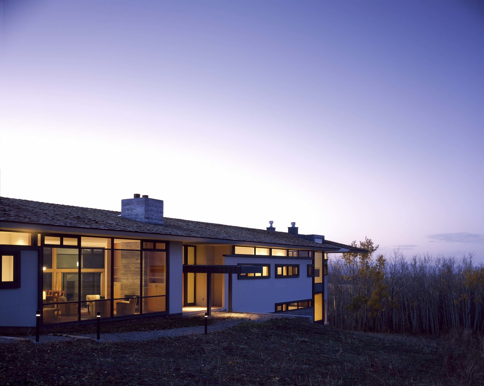 Wyoming Canyon Ranch by Sparano + Mooney Architecture