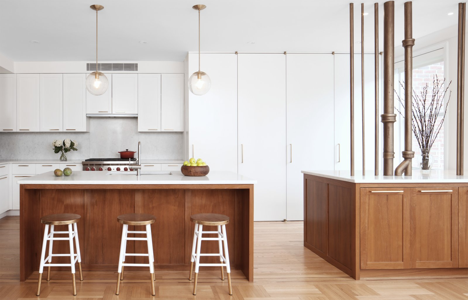 Park Slope Apartment Combination by Delson or Sherman Architects