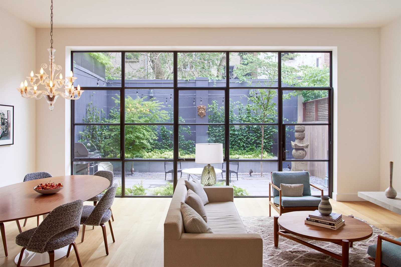 brooklyn heights carriage house modern home in new york new york by