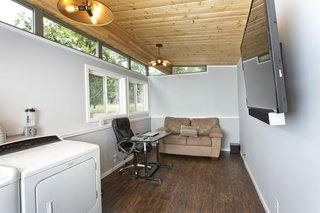 Modern-Shed Man Cave and Office