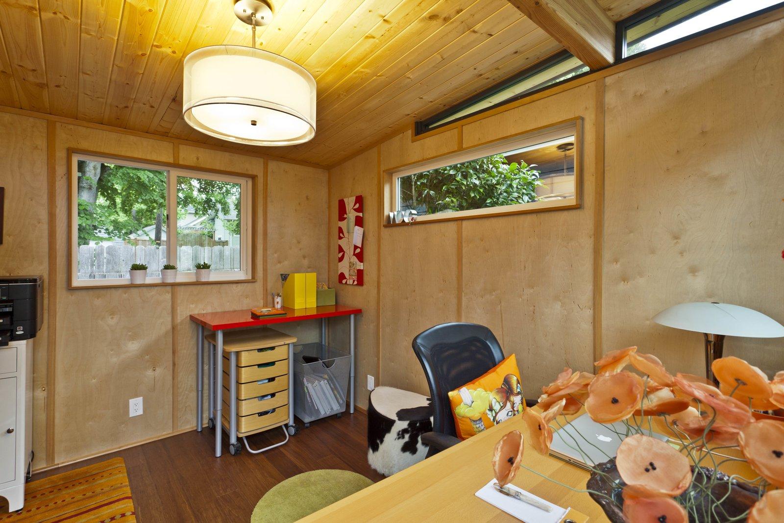 Modern Shed Stylish Portland Home Office