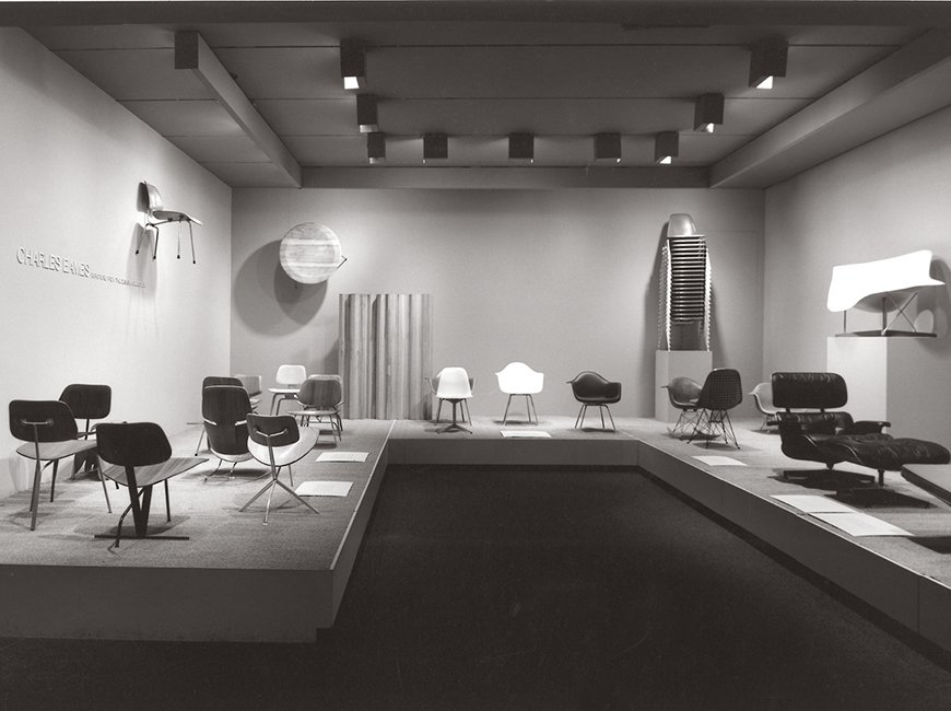 """""""Charles Eames: Furniture from the Design Collection,"""" MoMA, 1973  Photo 12 of 16 in Live from New York"""