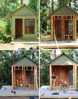 An Amazing Kids' Playhouse Built from an Old Backyard Shed - Photo 3 of 19 -