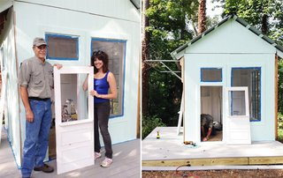 An Amazing Kids' Playhouse Built from an Old Backyard Shed - Photo 5 of 19 -