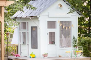 An Amazing Kids' Playhouse Built from an Old Backyard Shed - Photo 6 of 19 -