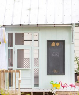 An Amazing Kids' Playhouse Built from an Old Backyard Shed - Photo 7 of 19 -