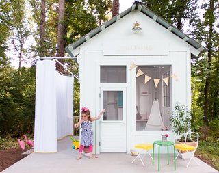 An Amazing Kids' Playhouse Built from an Old Backyard Shed - Photo 1 of 19 -