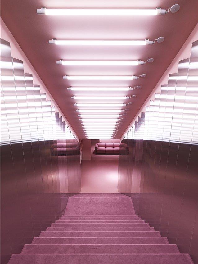 Staircase  Normann Copenhagen Showroom by Normann Copenhagen