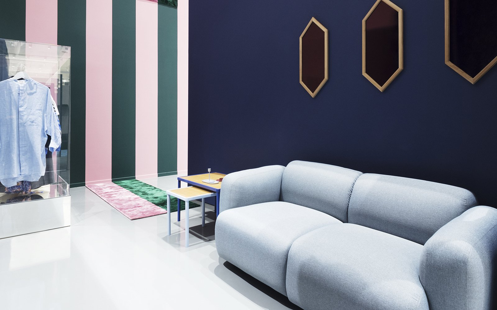 Living Room  Normann Copenhagen Showroom by Normann Copenhagen