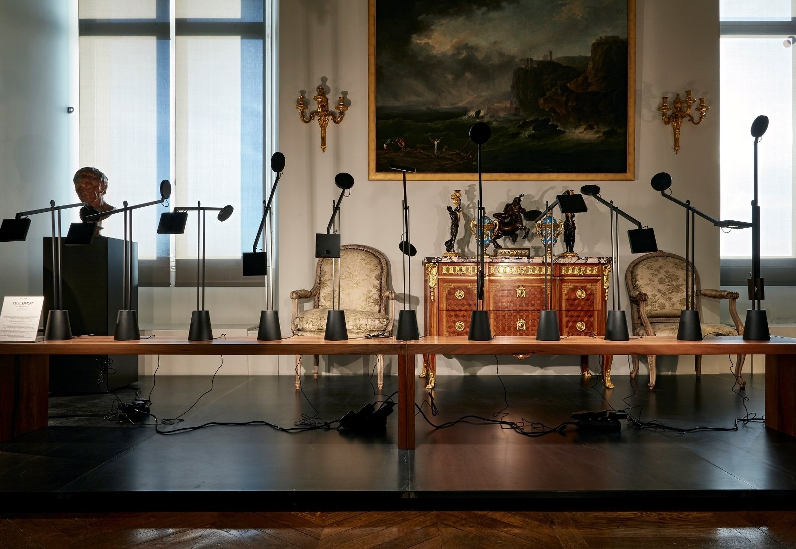 Jean Nouvel & Artemide at the Musée des Arts Décoratifs in Paris