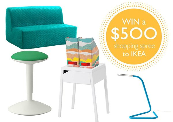 Score a $500 IKEA  shopping spree in our  back-to-school giveaway