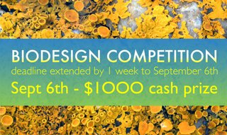 Enter the Biodesign Architecture Competition for a chance at $1000
