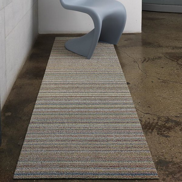 Skinny Stripe Shag Runner by Chilewich