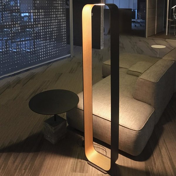 Ela led floor lamp by artkalia by lumens dwell pablo designs contour led floor lamp aloadofball Images