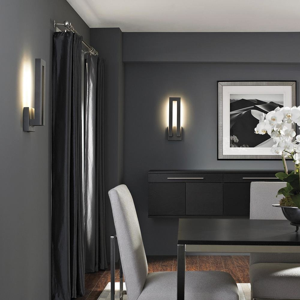 Beautiful Forq Indoor/Outdoor LED Wall Sconce By Modern Forms