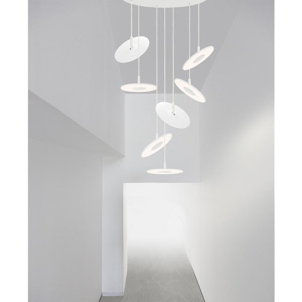 Circa Multi-Light LED Pendant by Pablo Designs